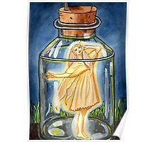 Captured - Fairy Art Poster