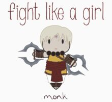 Fight Like a Girl - Monk | Diablo 3 Kids Clothes