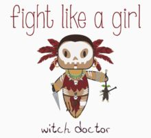Fight Like a Girl - Witch Doctor | Diablo 3 Kids Clothes