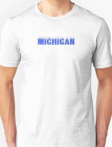 Ice Caps in Michigan Unisex T-Shirt