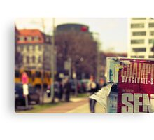 Streets of Berlin #5 Canvas Print