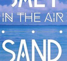 Inspirational Quote - Beach Sticker