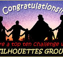 Top ten banner for the Silhouettes Group by Baina Masquelier