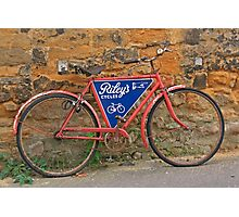 Ramshackle Bicycle Photographic Print