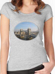 Tower Bridge Women's Fitted Scoop T-Shirt