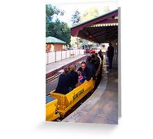 Diamond Valley Station Eltham, Victoria ... Greeting Card