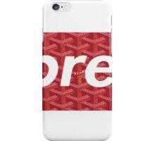 Supreme X Goyard Box Logo iPhone Case/Skin