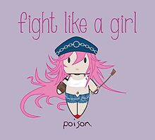 Fight Like a Girl - She Fighter by isasaldanha