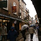 Shambles in the rain (York) by BronReid