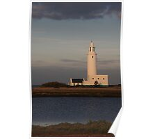 Hurst Spit Lighthouse Poster