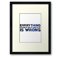 How to Train Your Dragon - Everything We Know Framed Print