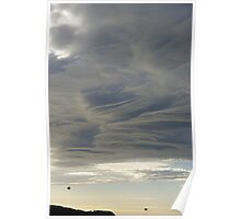 Winter Cloud Great Ocean Road Australia Poster