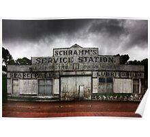 Schramm's Service Station Poster