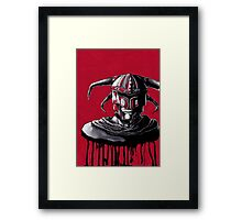 Blood Knight Framed Print