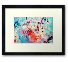 coral world Framed Print