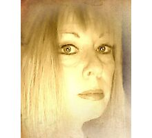 Self Portrait with Layer Photographic Print