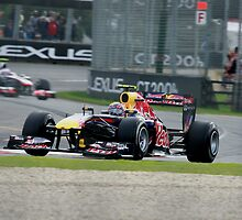 Mark Webber. Red Bull #2. 2011 Australian Grand Prix by Dean Perkins