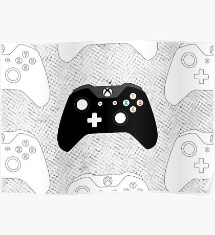 Xbox One Controller Poster