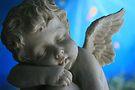 Sleeping Cherub by aussiebushstick