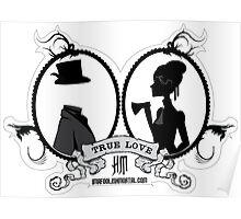True Love by Topher Adam Poster