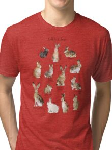 Rabbits & Hares Tri-blend T-Shirt