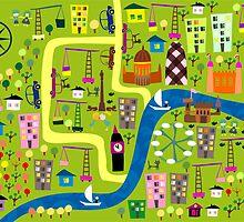 The city is growing by Anastasiia Kucherenko