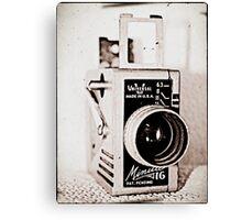 Dad's Video Camera Canvas Print