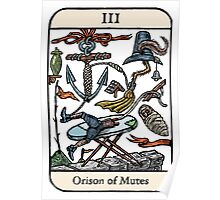 Orison of Mutes Poster