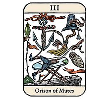 Orison of Mutes Photographic Print