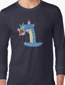 Angry Gyarados! Long Sleeve T-Shirt