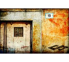 Nineteen and the mysterious symbol Photographic Print