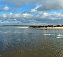 Mudeford peninsula by ByDebi