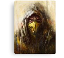 Tomek Biniek - Scorpion Canvas Print