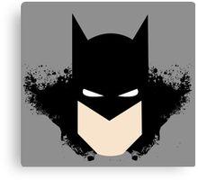 Batman Splash Canvas Print