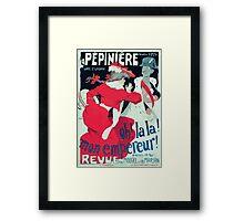 Jules Alexandre Grün Affiche la Pépinière Grün Framed Print