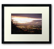 Townsville Dusk Framed Print