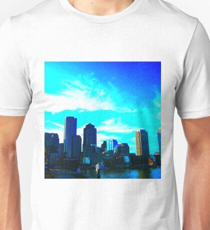 Blue Cloud Skyline Unisex T-Shirt