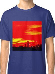 Red Skyline Classic T-Shirt