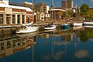 Hobart Harbour by Yukondick