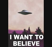 I want to believe (pink) T-Shirt