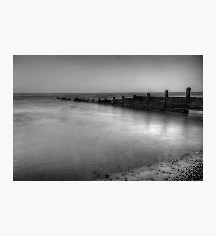 High Tide Groyne Photographic Print