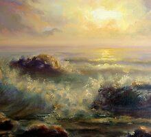 sunset in adraga.. by Almeida Coval