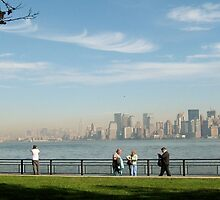View from Liberty Island by JesseRichardson