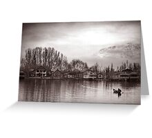 Dal Lake - Kashmir Greeting Card