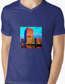 Clockwork Tangerine Mens V-Neck T-Shirt