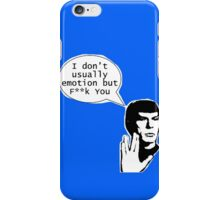 Tired of You (Less Explicit) iPhone Case/Skin