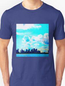 Cloud City Skyline Unisex T-Shirt