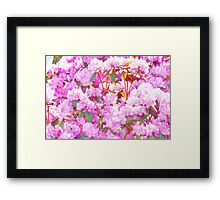 Watercolor Azaleas Framed Print