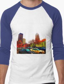 Ghost Town Lives Forever Men's Baseball ¾ T-Shirt