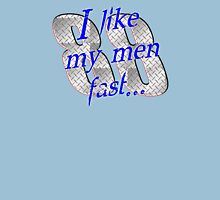 I Like My Men Fast... Dale Jr Womens Fitted T-Shirt